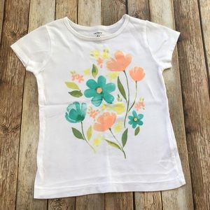 Carter's Shimmery Floral Top
